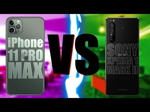 Apple IPhone 11 Pro Vs Sony Xperia 1 II (mark 2)