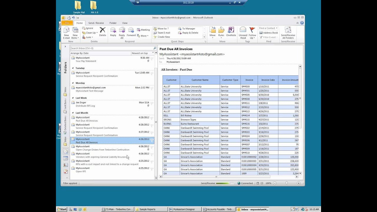 Overview Of Myassistant For Sage Timberline Office Soon