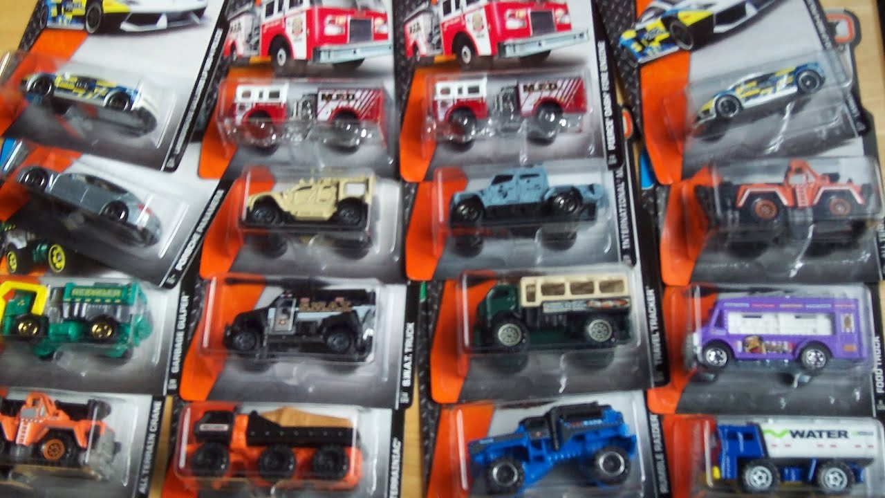 Toy Cars At Walmart : Walmart matchbox diecast cars quot big rigs haul and