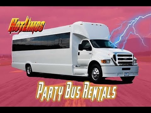 Party Bus San Diego - 35 Passenger Party Bus - San Diego Limo Rental (NEW)