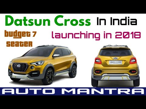 Datsun Cross launch date in India | price | features ...
