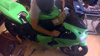 KAWASAKI ZX6R. IT WONT START.  ANY COMMENTS WILL BE APPRECIATE