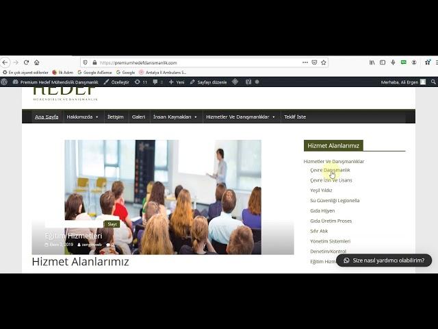 site giris Sayfa ayar1