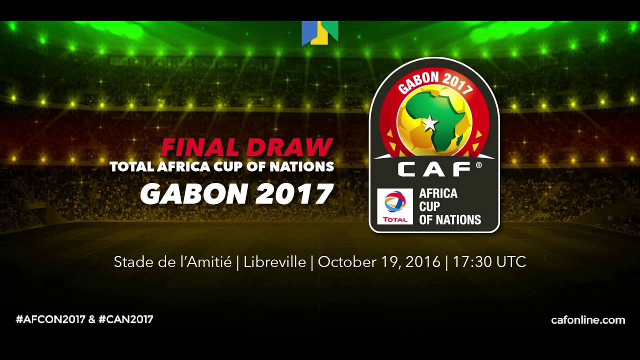 Draw for Total Africa Cup of Nations, Gabon 2017 - ARABIC
