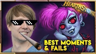 How to win with style! | Best Moments & Fails | Hearthstone