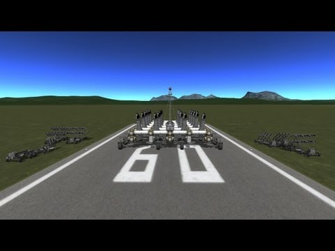 Kerbal Space Program (KSP) - KSC defense department : March of KSC defence artillery