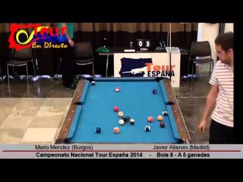Campeonato Nacional Tour España 2014; Mario Mendez vs Javier Alienes