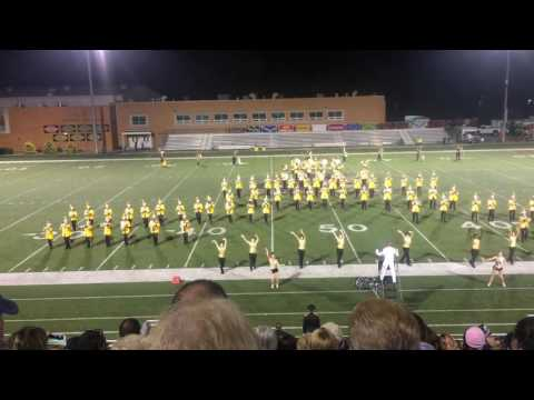 Geneva College Marching Band 2016