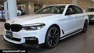 """BMW 523d M Sport """"M Performance Parts"""" : White"""