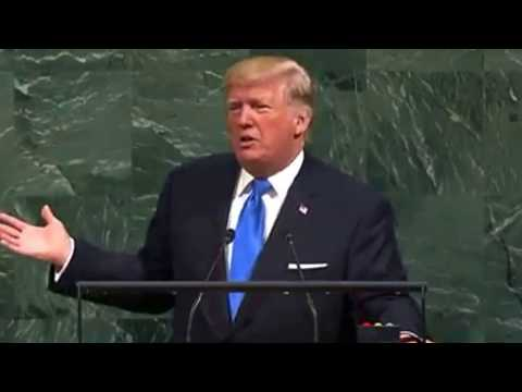 DONALD TRUMP MESSAGE TO DICTATOR PAUL BIYA OF CAMEROON AT THE UNITED NATIONS