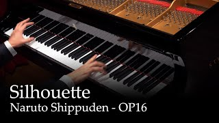 Silhouette - Naruto Shippuden OP16 [Piano]