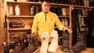 видео Детские ботинки для сноуборда