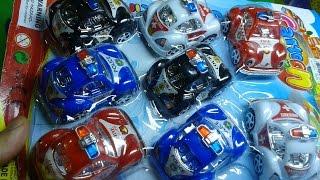 Bộ đồ chơi 8 xe cảnh sát