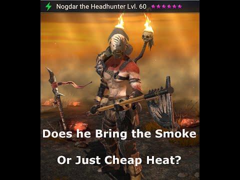 Nogdar the Headhunter | Raid Shadow Legends | Champion Review