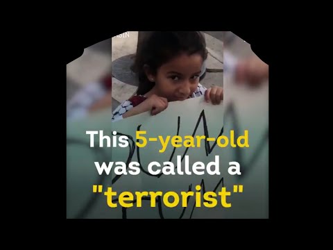 "Trump's supporters called a 5-year-old ""terrorist"""