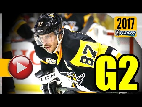 Ottawa Senators vs Pittsburgh Penguins. NHL 2017 Playoffs. Eastern Conference Final. Game 2. (HD)