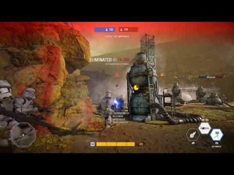 Clone Troopers vs Storm Troopers on Kessel (CROSS ERA CLONES MOD) - Star Wars Battlefront 2
