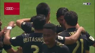 GOAL Carlos Vela earns his brace in the first half vs LA Galaxy