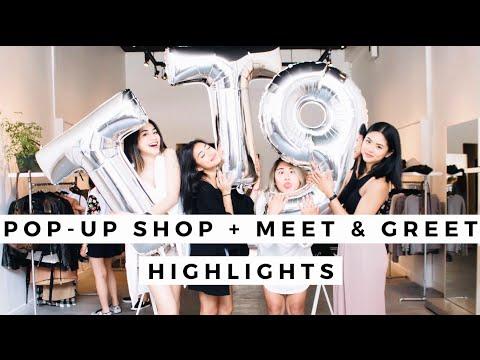 ToThe9s Pop-Up Shop + Meet & Greet HIGHLIGHTS