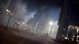 Ankara Kızılay Geziparkı yavaş çekim Biber gazı (02.06.2013)