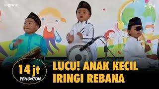 🔴Viral! Anak Kecil Lucu Iringi Rebana Lagu Yalal Wathan karya Pendiri NU KH Wahab Chasbullah
