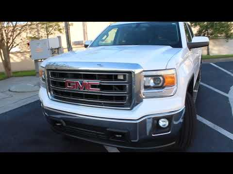2014 WHITE GMC SIERRA 1500 SLE (3GTP1UEC7EG) with an 5.3L engine, Automatic transmission, located at 6921 40th St N, Pinellas Park, FL, 33781, (727) 366-8136, 27.834944, -82.687653 - Photo #0