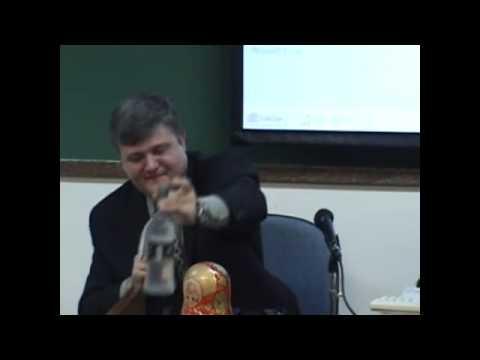 Dr. Antonio Carlos Rosset Filho speaking in UNIVERSITY OF SÃO PAULO 2008