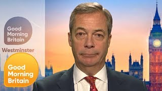 Nigel Farage ''I Chose to Put Country Before Party'' | Good Morning Britain