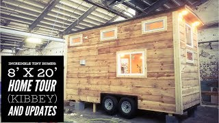 Incredible Tiny Homes: 8' X 20' Home Tour Kibbey And Updates