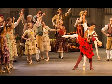 Don Quixote - Act I finale (Marianela Nuñez and Carlos Acosta, The Royal Ballet)
