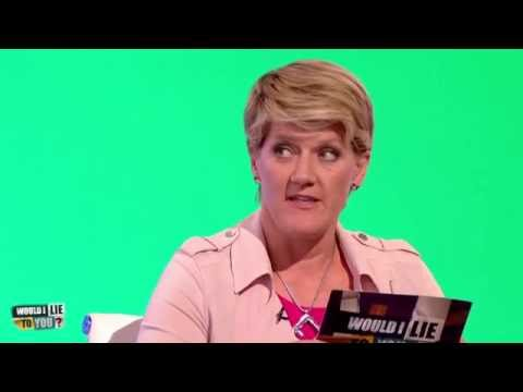 "Clare Balding: ""Excuse me please, my father has fallen in the river"" - Would I Lie to You? [HD]"