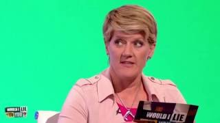 """Clare Balding: """"Excuse me please, my father has fallen in the river"""" - Would I Lie to You? [HD]"""