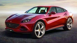 2020 Ferrari Crossover - first sport SUV by Scuderia