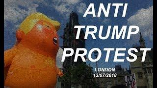 ANTI TRUMP PROTEST: UK