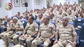 بالفيديو - الفريق محمود حجازي يشهد إحدى المراحل الرئيسية لمشروع ''باسل 9''