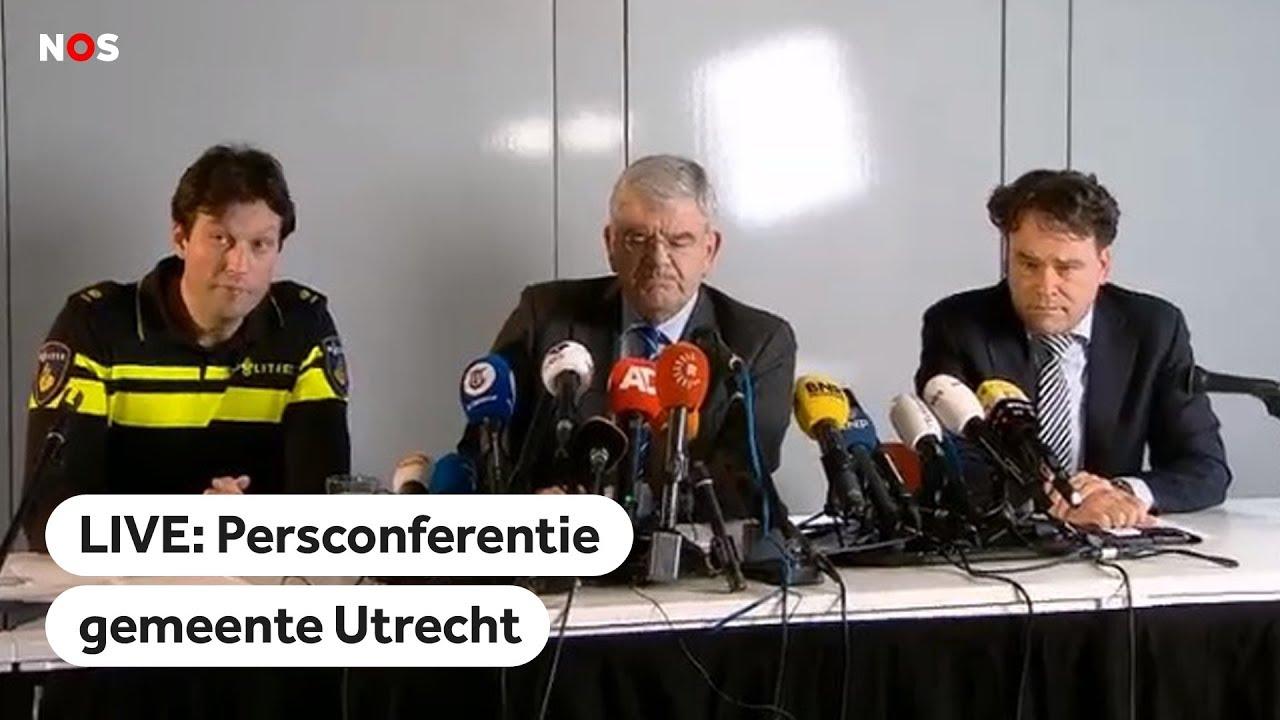 LIVE: Persconferentie Gemeente Utrecht