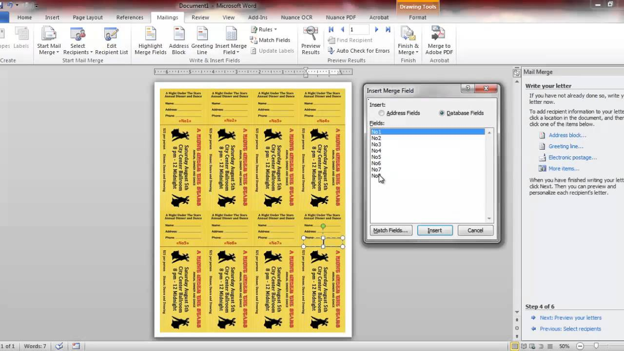Good Raffle Ticket Numbering With Word And Number Pro   YouTube Within Numbering Tickets In Word