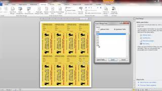 raffle ticket numbering with Word and Number-Pro