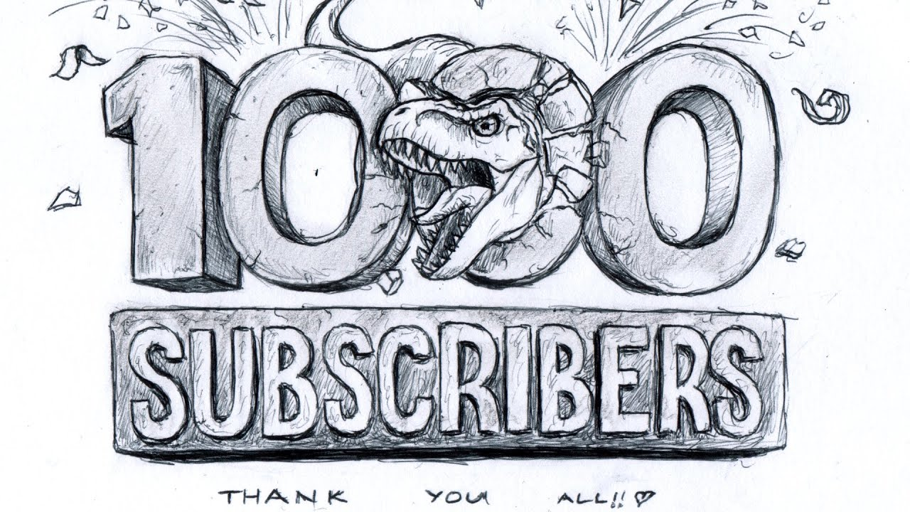 1000 subscribers special thank you all 1of4 9