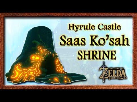 Saas Ko'sah Shrine Guide (Hyrule Castle Shrine) - Zelda Breath Of The Wild