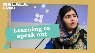 Malala and teen activists on learning to speak out