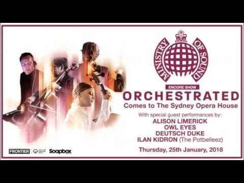 Ministry of Sound Orchestrated Sydney Opera House 2018