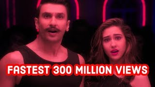 Fastest Indian/Bollywood Songs to Reach 300 Million Views on Youtube