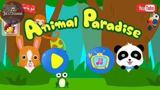 Animal Paradise | Baby Panda | Game for Kids | Jet's Channel
