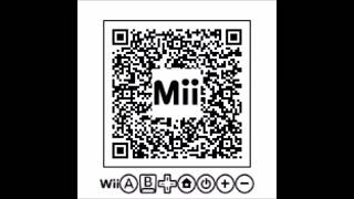 Wii U Hacked Mii name symbols QR Codes! No Hacked Wii U Required