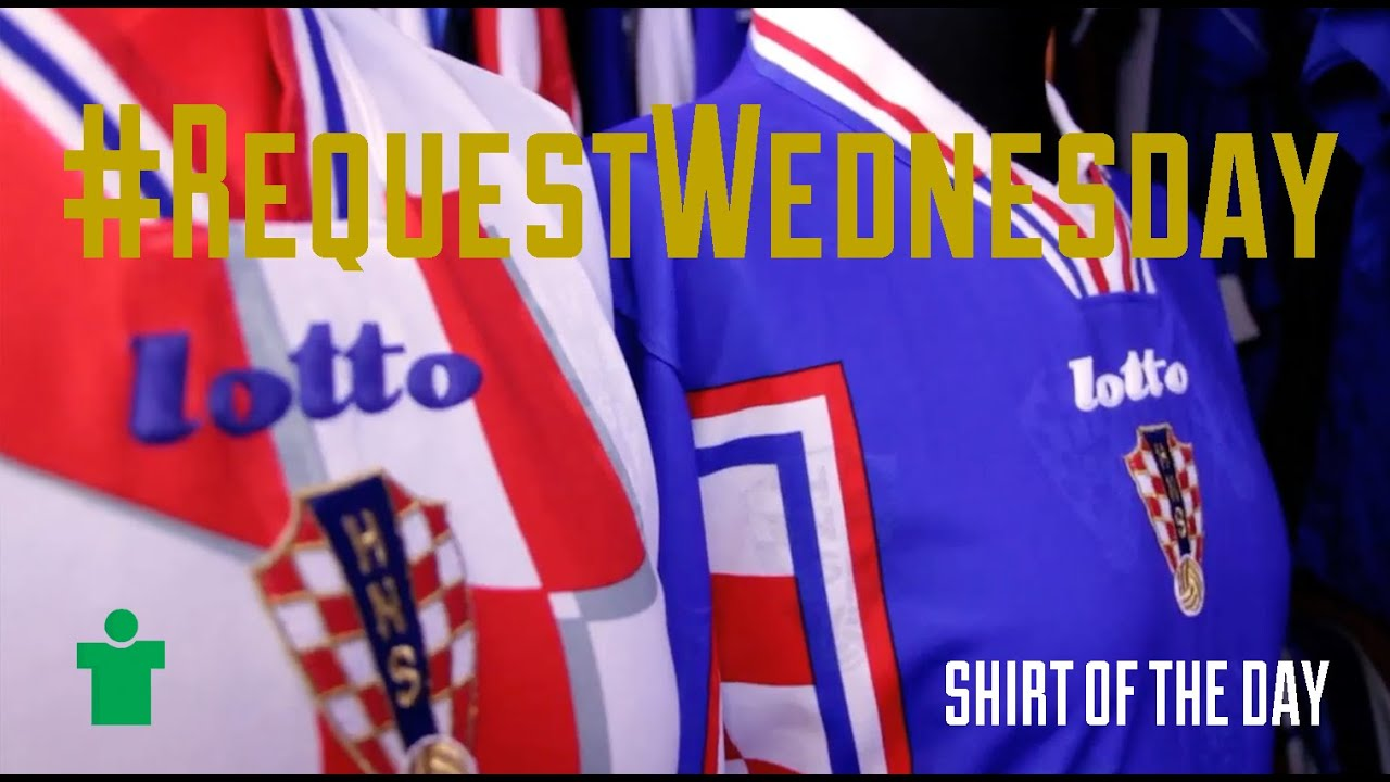 RequestWednesday - Croatia 1998 Home   Away - YouTube ce4b6710e