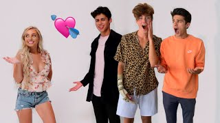 SETTING MY BEST FRIENDS UP ON BLIND DATES! Ft  Brent Rivera, Andrew