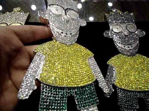 5e9905b90379e Mr Chris Da Jeweler Custom Gucci Mane Bart Simpson OR Gucci Dog