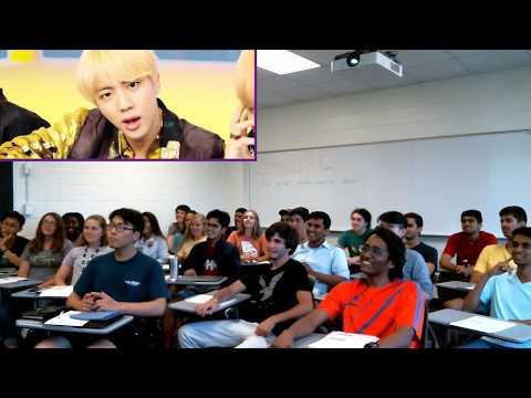 "English Class At Georgia Tech REACTS To BTS (방탄소년단) ""IDOL"""