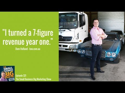 323 - How To Disrupt Any Industry with Dominic Holland from Tow.com.au